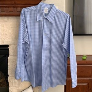 Brooks Brothers Men's Shirt - Size 17 4/5